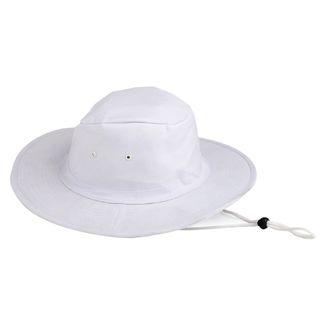 Canvas Sun Hat - White