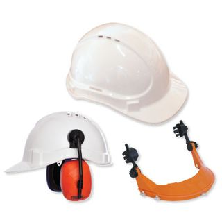 Hard Hat Vented White