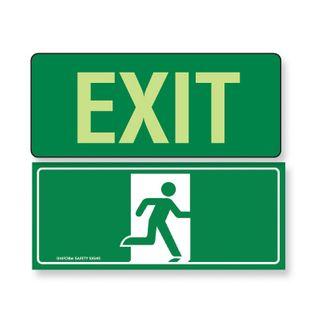 Exit Sign - Symbol (350 x 145mm)
