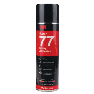 3M SUPER SPRAY ADHESIVE 77