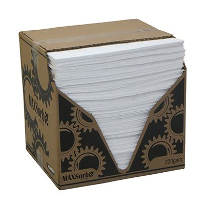 OIL/FUEL ABSORBENT PADS