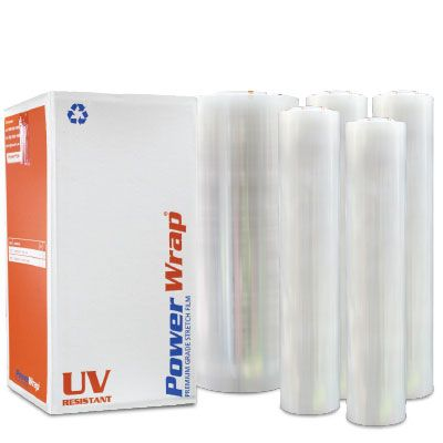 UV RESISTANT STRETCH FILM