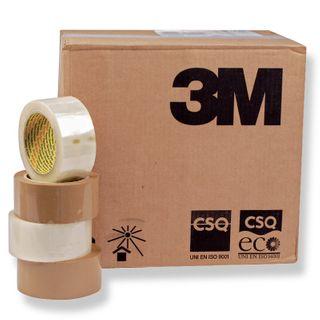 3M Pkg Tape 48mm x 75m Scotch 370 Brown