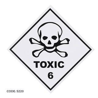 DG Label 300x300 Toxic 6