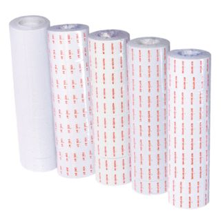 Motex Plain White 21x12mm Label 1000/roll