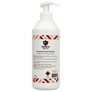 Benchmark Shield Hand Sanitizer Gel - 500ml Pump Bottle