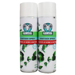 RAMSOL Spray Sanitiser 500ml aerosol