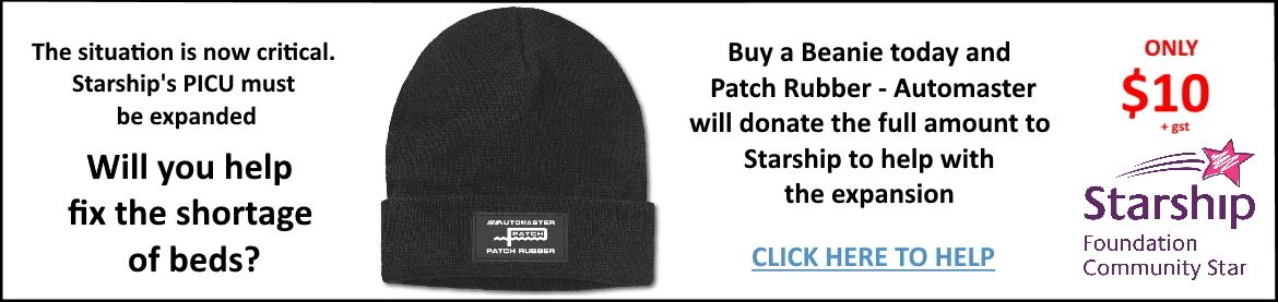 Click here to add a Charity Beanie to your order