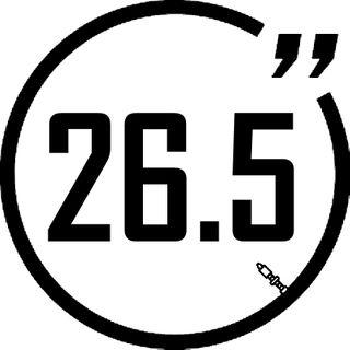 "Tubes - 26.5"""