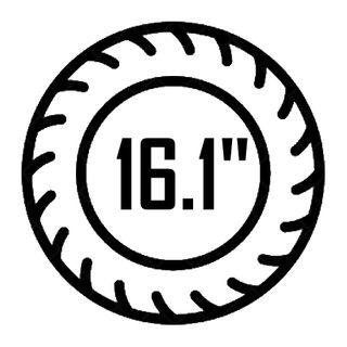 "16.1"""