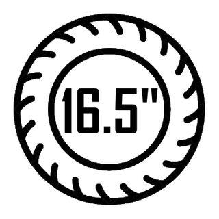 "16.5"""