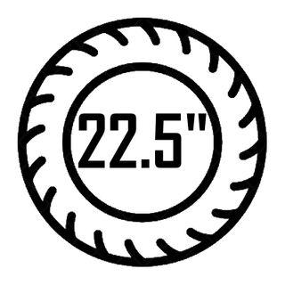 "22.5"""