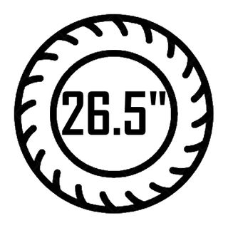 "26.5"""