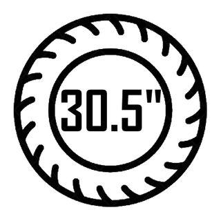 "30.5"""