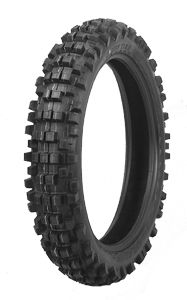 60/100x14 front knobbly tyre
