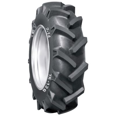 6-14 BKT TR126 tractor lug 4pr