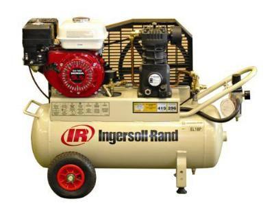 IR Honda petrol compressor,18cfm, 2cyl