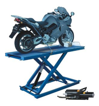 Automaster motorcycle lifter