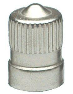 valve cap metal dome short (100)