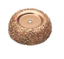 """4"""" cup rasp 16 grit 3/8 in arbour hole"""