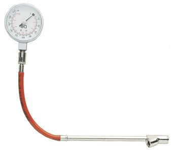 aircraft gauge 400 psi with d/f chuck