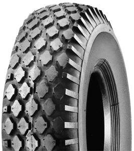 300x8 4pr grey block tyre