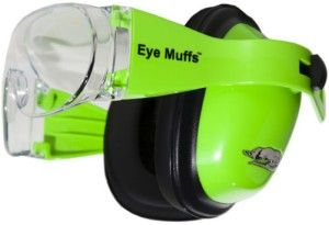 eyemuff class 4 green/clear lens