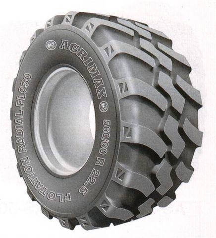 710/50R26.5 BKT FL630 Radial Traction Imp TL