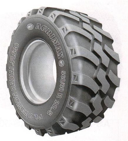 560/45R22.5 BKT FL630 Radial Traction Imp TL