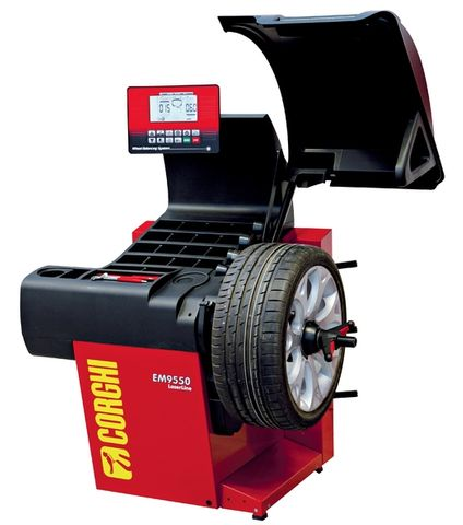Corghi EM9550 Plus wheel balancer
