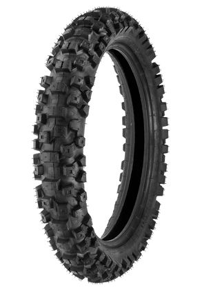 110/100x18 DM1153 duro rear knobbly tyre