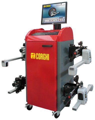Corghi Exact 7 RX wheel aligner