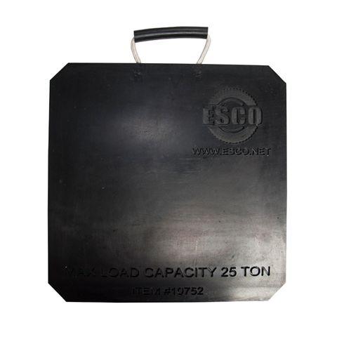 jack plate 25 ton Esco 450x450x25mm