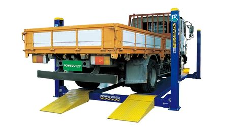 Powerrex 6.0T alignment lift with twin jacking beams