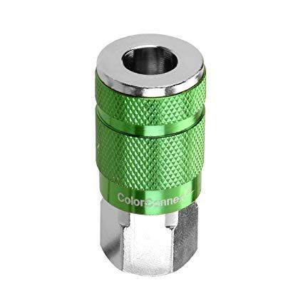 colour connex 1/4NPT coupler - aro style