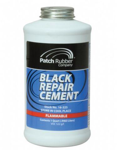 black repair cement (quart) - PRC