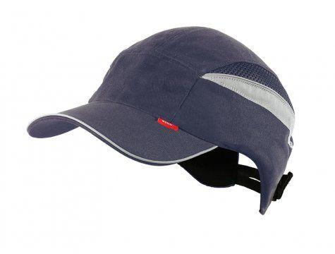 safety bump cap long peak - Navy blue