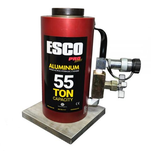 55 ton aluminium bottle jack - Esco air / hyd