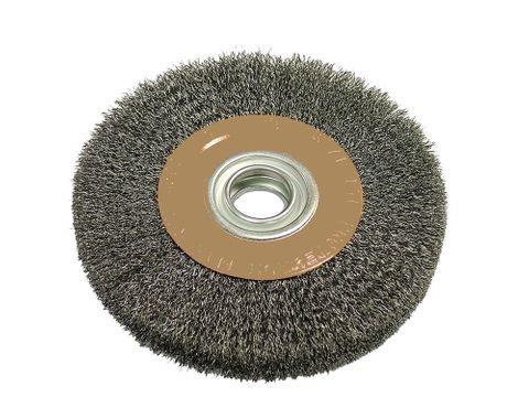 75mm x 6mm coarse wire brush 10mm arbor hole