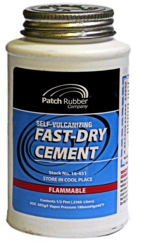 fast dry cement (1/2 pint) - PRC