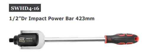 "1/2"" impact power bar 400mm - AOK"