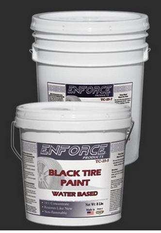 Black tyre paint 5 gal 10:1 concentrate Enforce