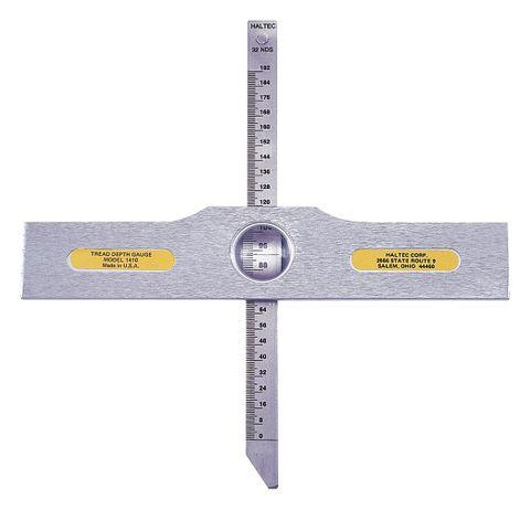 E/M tread depth gauge haltec incl pouch