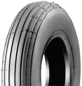 200x50 black ribbed tyre
