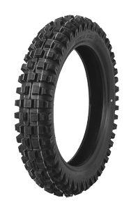 350x8 HF206 front/rear knobbly tyre