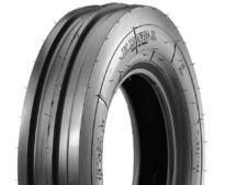 350x8 4pr triple rib tyre