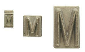 tyre brander initial single (A-Z, 0-9)