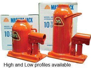 Masada Bottle Jacks - Low