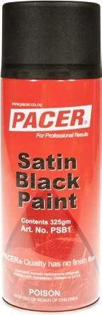 BLACK PAINT AEROSOL