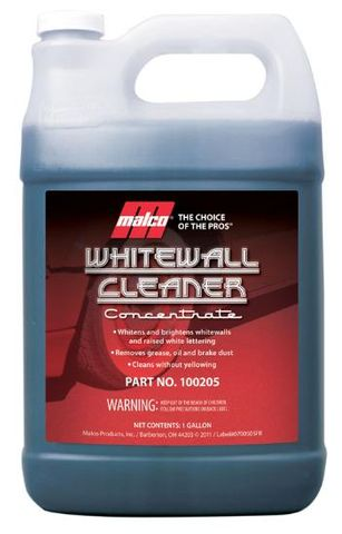 WHITEWALL TYRE CLEANER 3.78LT